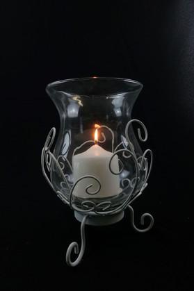 White Steel Lantern