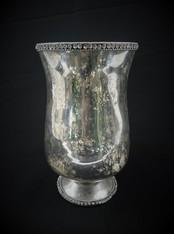 Tarnished Silver Vase
