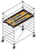 Mobile Aluminium scaffolding