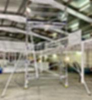 Aluminium Scaffolding in Melbourne