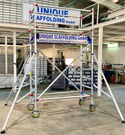 Aluminium Scaffolding supplier in Germany Frankfurt