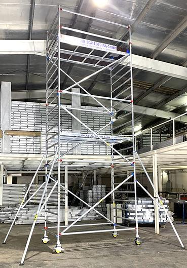 Aluminium Scaffolding in Dusseldorf Germany