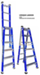 FIBERGLASS STEP EXTENSION LADDER IN MELBOURNE Australia