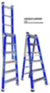FIBERGLASS STEP EXTENSION LADDER IN MELBOURNE