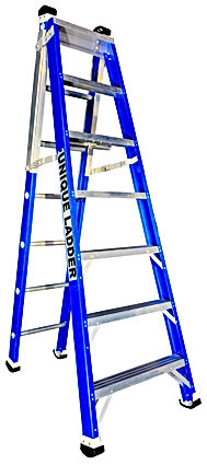 FIBERGLASS STEP EXTENSION LADDER SALE IN SYDNEY MELBOURNE
