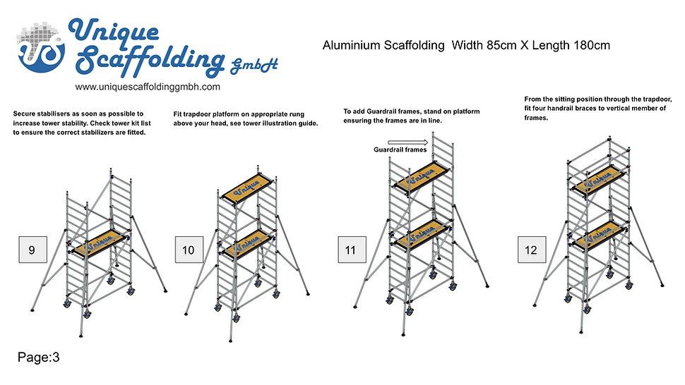 Aluminium Scaffolding Erection manual