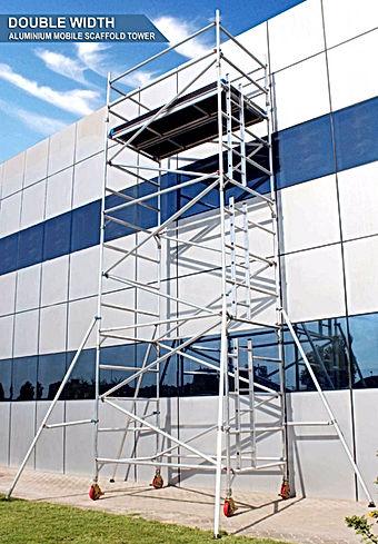 Aluminium Scaffolding in jeddah
