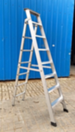 A SHAPE LADDER DUAL PURPOSE LADDER