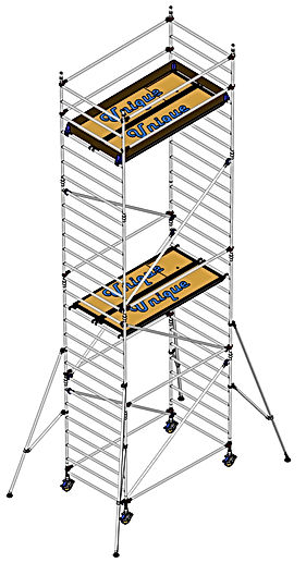 Aluminium scaffolding tower supplier in germany Frankfurt Berlin Dusseldorf