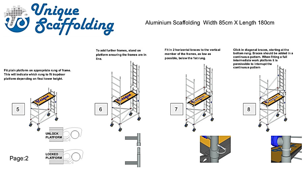 ALUMINIUM SCAFFOLDING ERECTION MANUAL