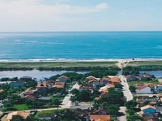 Lagoa da Cruz, um vilarejo bucólico na Praia da Barra do Itapocu em Araquari, onde o tempo passa dev