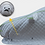 Thumbnail: Портативный гараж (утепленный тент-чехол) камуфляж 4.1 м хэчбэг