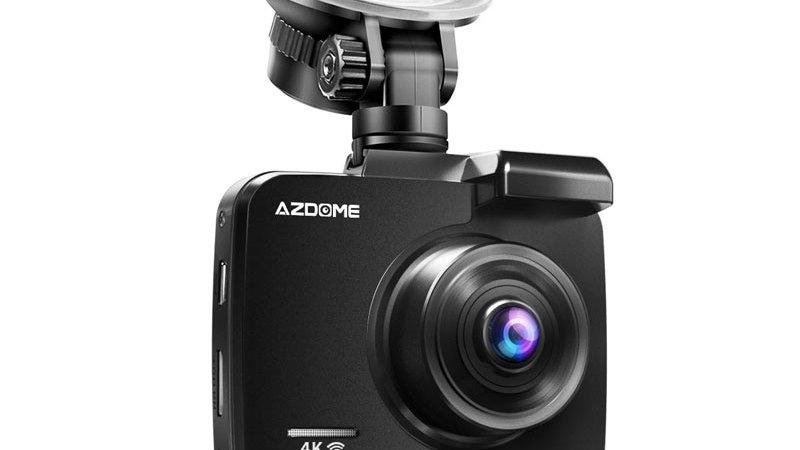 AZDOME GS63H 4k/2880*2160p WiFi Car DVRs Rec Rear GPS WDR Night Vision Dashcam