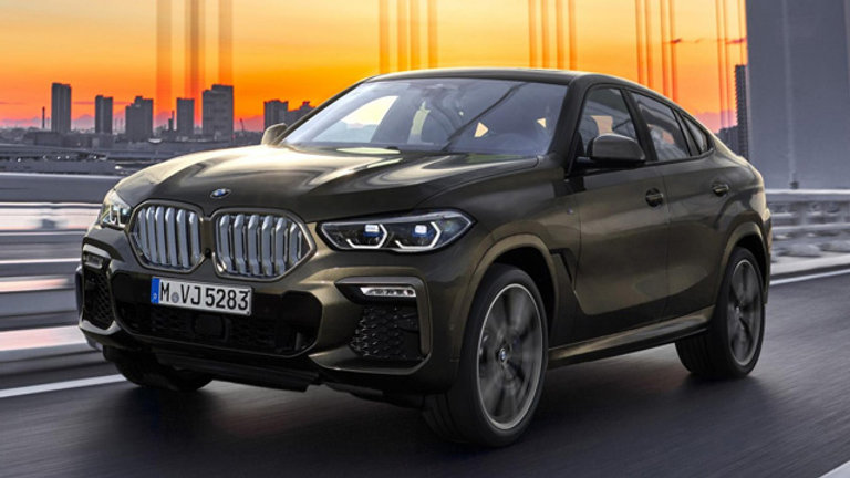 BMW X6 MF86 (2015-2018)
