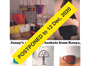 Baskets and more sale POSTPONED to Dec. 12
