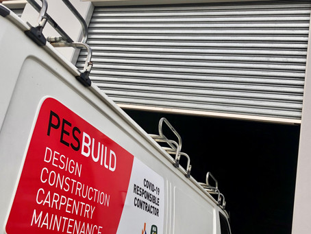 We are a Covid responsible contractor!