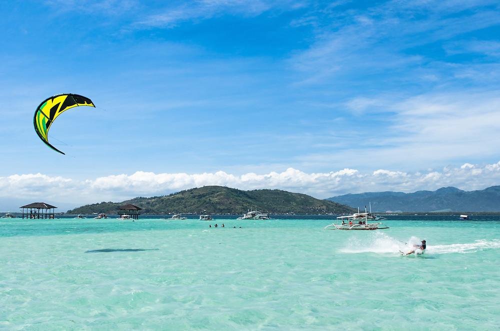 Empty Kitesurfing spot, Negros Island, Kitesurf Dumaguete