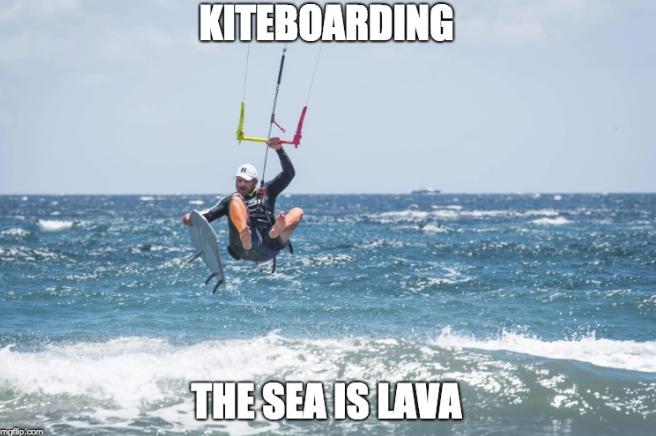 kitesurf meme