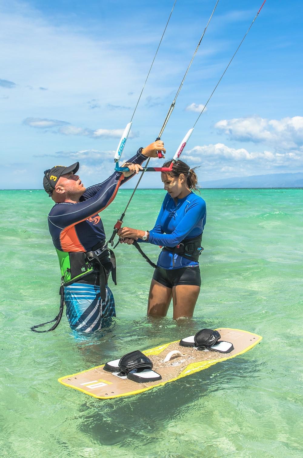 Dumaguete kitesurf coaching