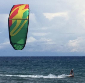 Kitesurf trip from Manila