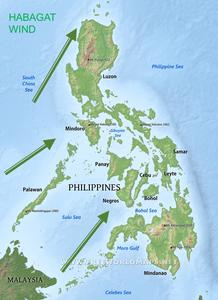 Habagat Wind Philippines Typhoon wind