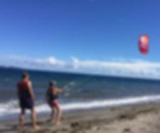 Learning kitesurfing in Philippines, Zamboanguita