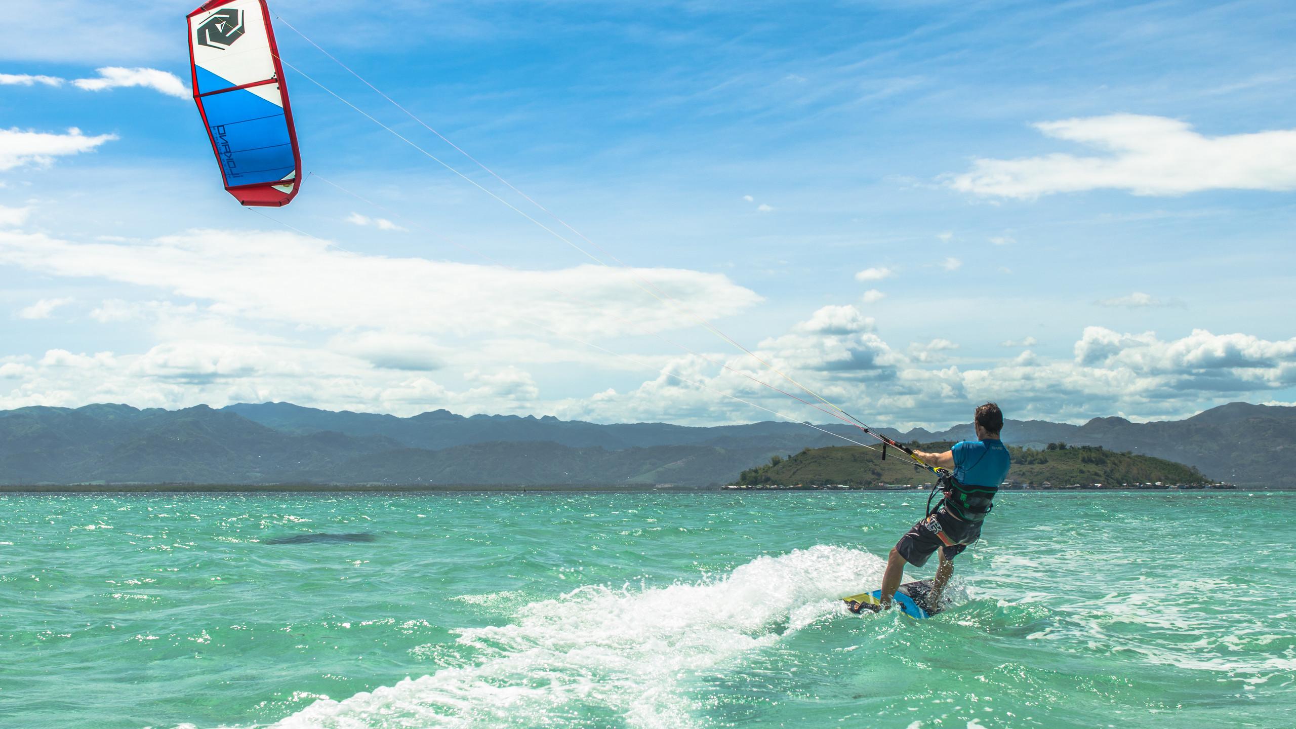 Kitesurf Dumaguete, Kitesurf Philippines, Kitesurf trip Asia