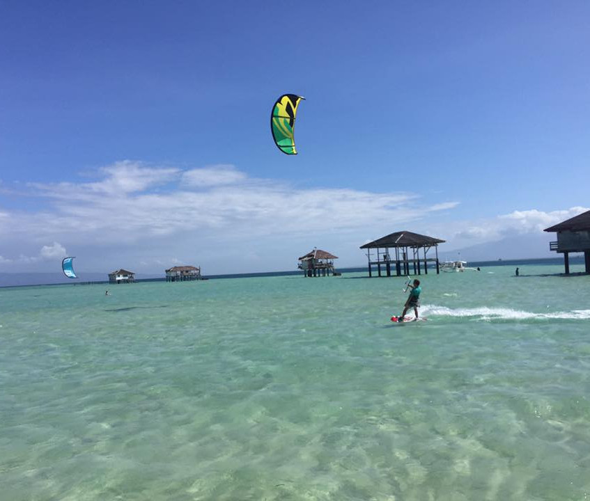 Bringing people to ride and discover one of the best kitesurf spot in the word!