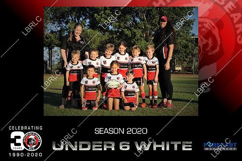 U6 White Team Photo Digital File