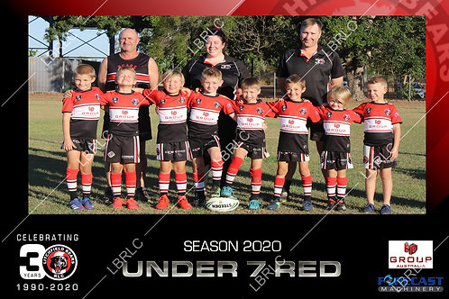U7 Red Team Photo Print
