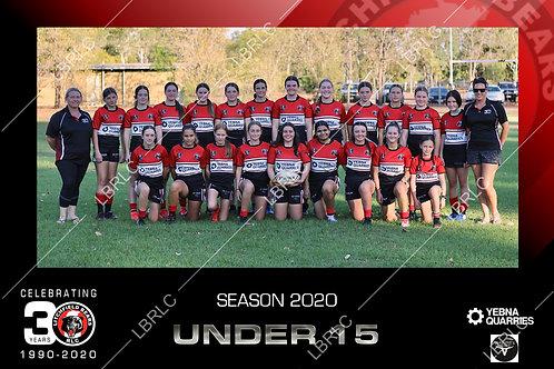 U15 Girls Team Photo Digital File