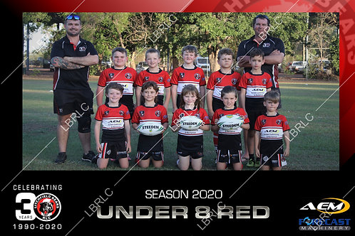 U8 Red Team Photo Digital File