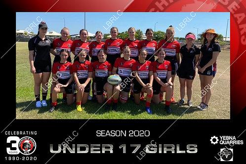 U17 Girls Team Photo Print