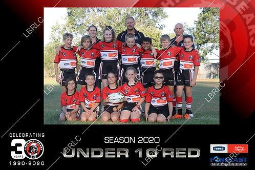 U10 Red Team Photo Digital File