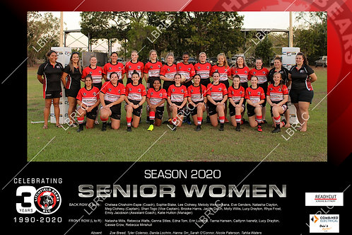 Senior Women Team Photo Print