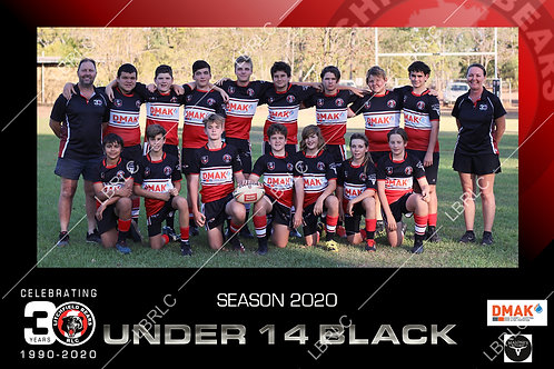 U14 Black Team Photo Digital File
