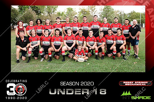 U18 Team Photo Digital File