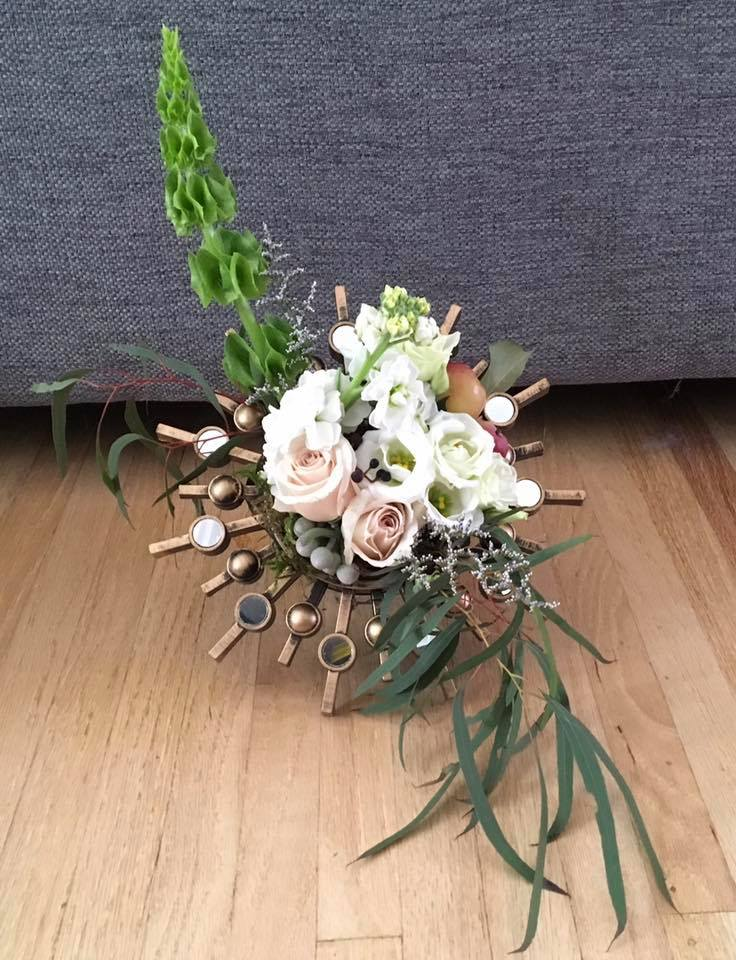 Vintage framed blooms