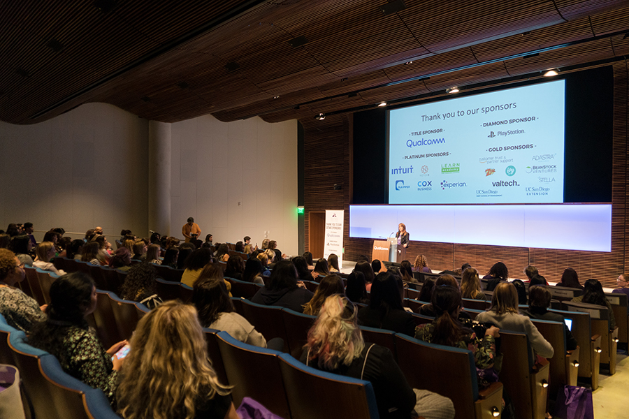 SDTWS convenedthe region's thriving and diverse tech workforce as we celebrated International Women