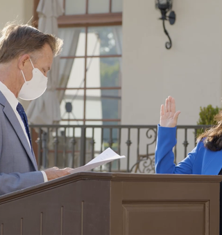 Dr. Diana Shiba getting sworn in.png