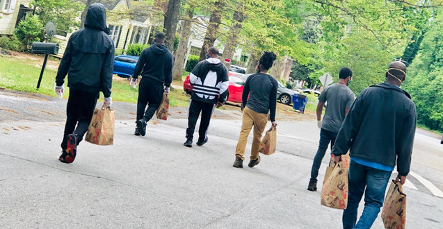Covid 19 and Food Desert Relief