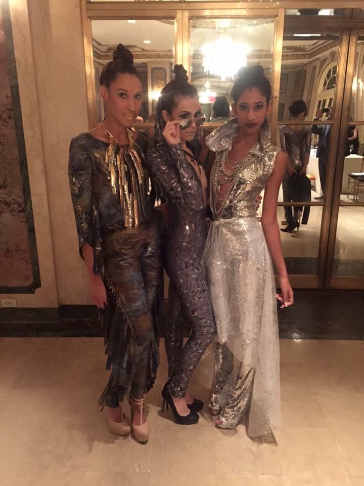 NYFW Post-Show Sala's models