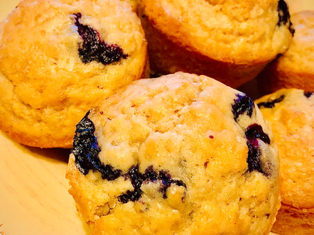 Flavaful Blueberry Muffins
