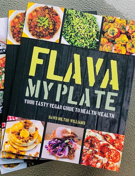 Flava My Plate Vegan Cookbook