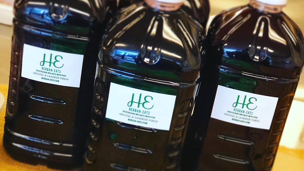 1/2 gallon Hibiscus Punch