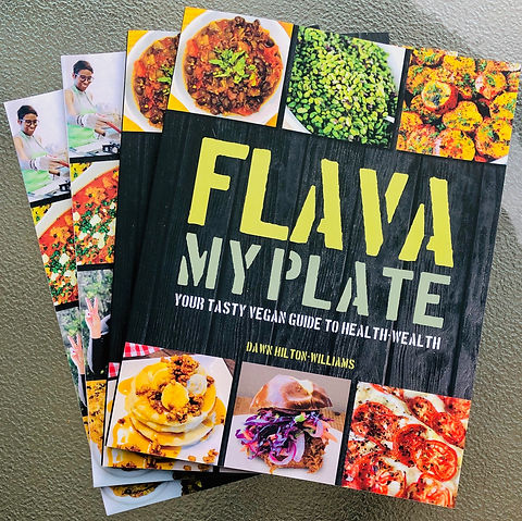 Flava My Plate Vegan Cookbook