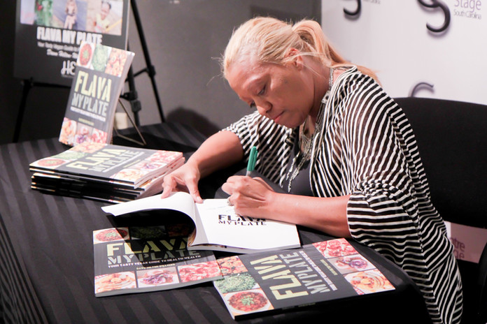 Flava My Plate Book Signing