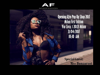 Afro Fashion Pop Up Shop