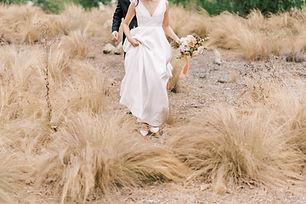 Wedding day photoshoot of bride and groom