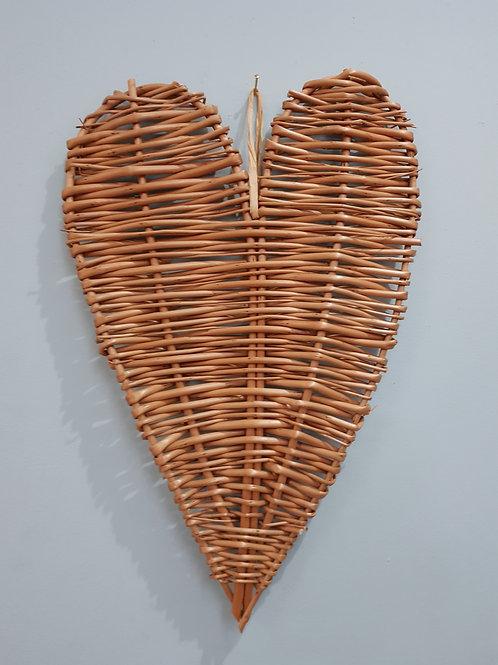 Buff Willow Heart